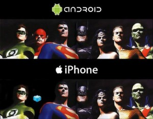 Abdroid Vs Iphone