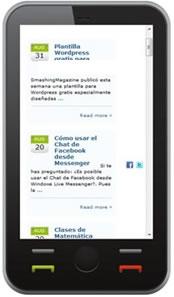 Desarrollo web móvil