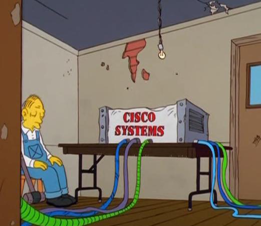 El poder de un router