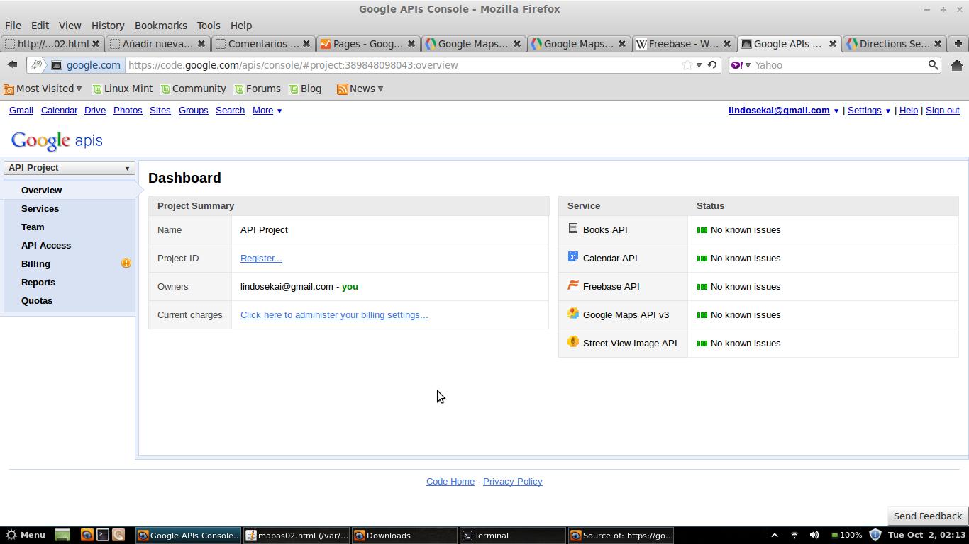 how to get google calendar api key