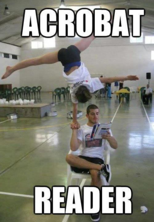 acrobat reader geek