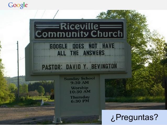 google-no-respuestas